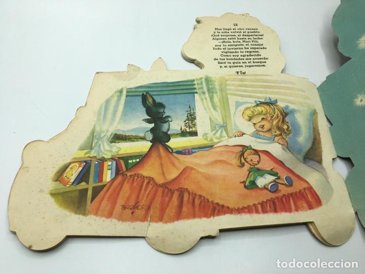 Libros antiguos: Mari Pili en Biscuter , texto y dibujos Ferrándiz , Editorial Vilcar 1º edición - Foto 15 - 195296980