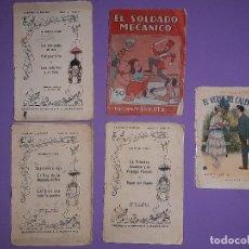 Libros antiguos: LOTE 5 CUENTOS MUY ANTIGUOS EDITORIAL JUVENTUD S.A. BARCELONA . Lote 195345201