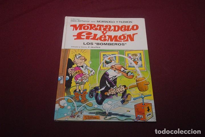 MORTADELO Y FILEMÓN LOS BOMBEROS (Libros Antiguos, Raros y Curiosos - Literatura Infantil y Juvenil - Cuentos)