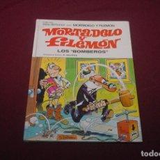 Libros antiguos: MORTADELO Y FILEMÓN LOS BOMBEROS. Lote 195355640
