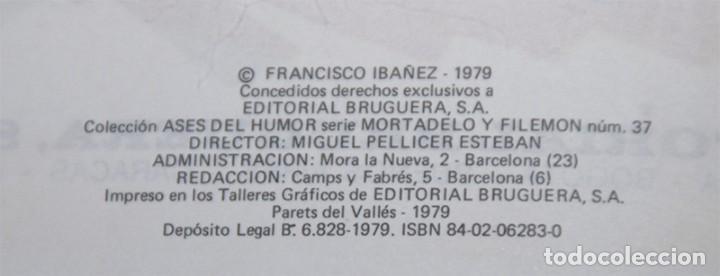 Libros antiguos: Mortadelo y Filemón Los Bomberos - Foto 3 - 195355640