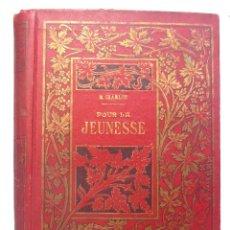 Libros antiguos: 1900 - CUENTOS INFANTILES ILUSTRADOS CON 40 GRABADOS DE EMILE BAYARD - CARTONÉ ESTAMPADO. Lote 195484606