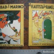 Libros antiguos: DOS CUENTOS DE EDICIONES ALBERTO GENIES. Lote 195529880