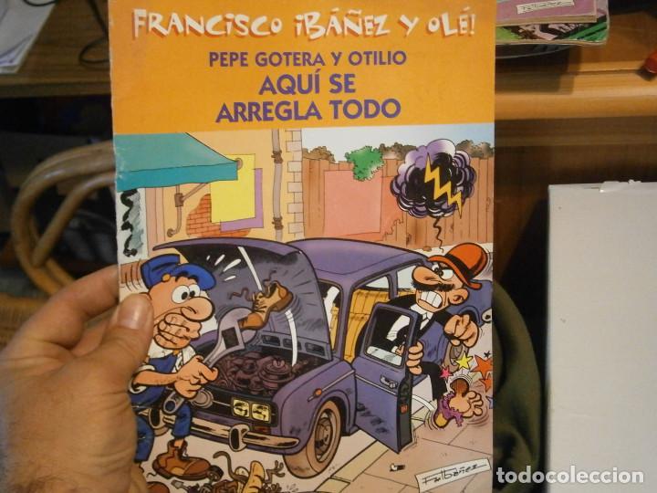LOTE DE 3 LIBROS MORTADELO Y,,, (Libros Antiguos, Raros y Curiosos - Literatura Infantil y Juvenil - Cuentos)