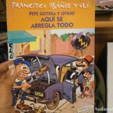 Libros antiguos: LOTE DE 3 LIBROS MORTADELO Y,,,. Lote 196236302