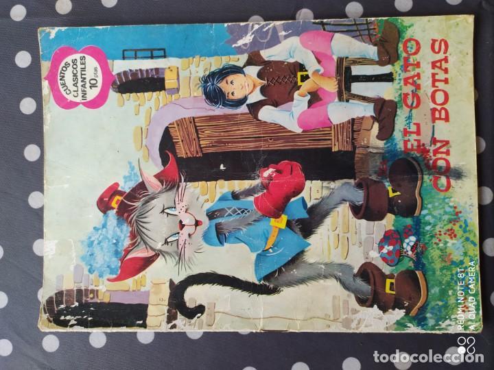 MUY ANTIGUO CUENTO DE EL GATO CON BOTAS (Libros Antiguos, Raros y Curiosos - Literatura Infantil y Juvenil - Cuentos)