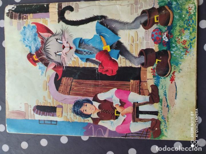Libros antiguos: Muy antiguo cuento de el gato con botas - Foto 2 - 197029731