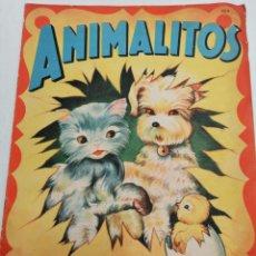 Libros antiguos: * ANIMALITOS* , ILUSTRACIONES DE RODOLFO DAN.. Lote 197094912