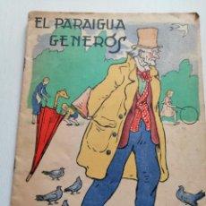 Libros antiguos: CUENTO EN CATALÁN EL PARAIGUA GENERÓS. COL-LECCIONS MUNTAYOLA 1933. Lote 197114983