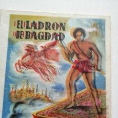 Libros antiguos: CUENTO EL LADRON DE BAGDAD. COLECCIÓN MARAVILLOSA . Lote 197116167