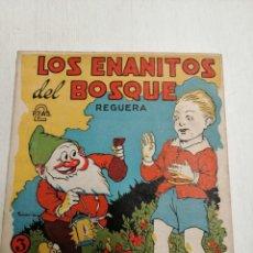 Libros antiguos: LOS ENANITOS DEL BOSQUE DE REGUERA Nº 3.. Lote 197120251