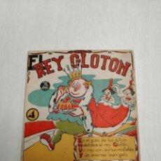 Libros antiguos: *EL REY GLOTON* DE REGUERA Nº 4.. Lote 197120503
