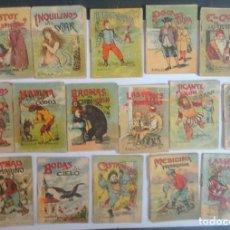 Libros antiguos: LOTE DE 16 CUENTOS DE CALLEJA SERIE I, VARIOS TOMOS, VER FOTOS. Lote 197126712