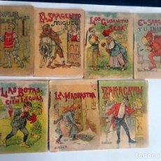 Libros antiguos: LOTE DE 7 CUENTOS DE CALLEJA SERIE X, VARIOS TOMOS, VER FOTOS. Lote 197127196