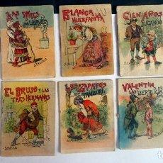 Libros antiguos: LOTE DE 10 CUENTOS DE CALLEJA SERIE XI, VARIOS TOMOS, VER FOTOS. Lote 197128793