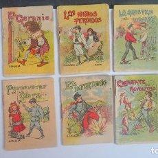 Libros antiguos: LOTE DE 10 CUENTOS DE CALLEJA SERIE VII, VARIOS TOMOS, VER FOTOS. Lote 197129731