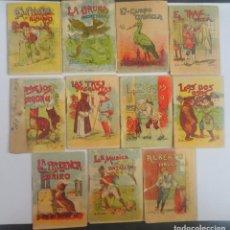 Libros antiguos: LOTE DE 11 CUENTOS DE CALLEJA SERIE VI, VARIOS TOMOS, VER FOTOS. Lote 197130088
