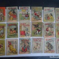 Libros antiguos: LOTE DE 18 ANTIGUOS CUENTOS DE CALLEJA SERIE IV, VARIOS TOMOS , VER FOTOS. Lote 197131285