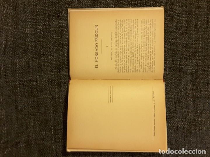 Libros antiguos: EL HONRADO FRIDOLIN BIBLIOTECA SELECTA EDITOR RAMÓN SOPENA N° 50 - Foto 5 - 197544568