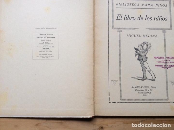Libros antiguos: EL LIBRO DE LOS NIÑOS - Foto 2 - 197545176