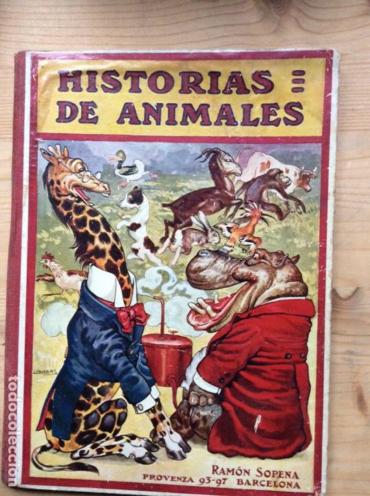 HISTORIAS DE ANIMALES (Libros Antiguos, Raros y Curiosos - Literatura Infantil y Juvenil - Cuentos)