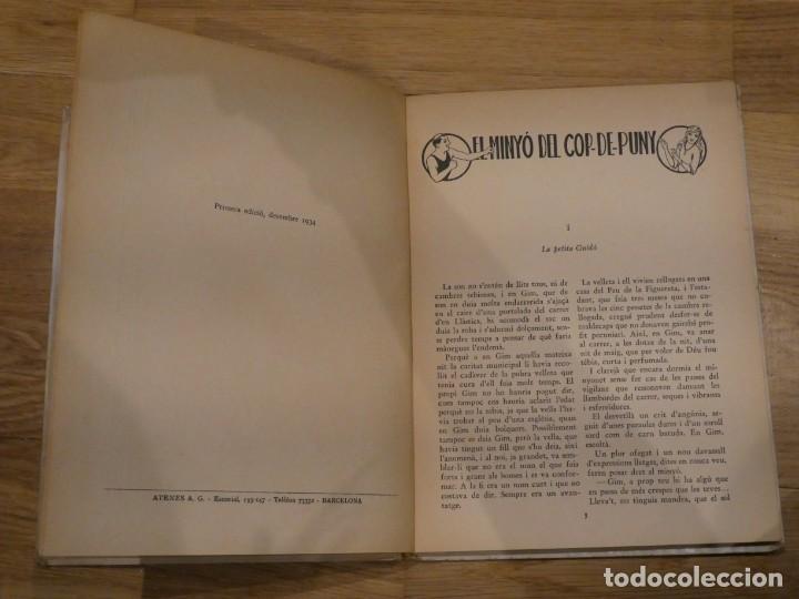 Libros antiguos: EL MINYÓ DEL COP DE PUNY, CLOVIS EIMERIC - 1934 (1a EDICIÓN) - Foto 3 - 198333193