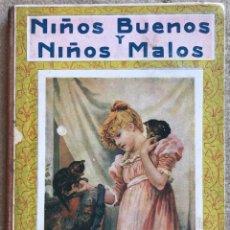 Libros antiguos: NIÑOS BUENOS Y NIÑOS MALOS - EDITORIAL RAMÓN SOPENA - AÑO 1939. Lote 198410482