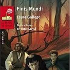 Libros antiguos: FINIS MUNDI DE LAURA GALLEGO. Lote 198637415
