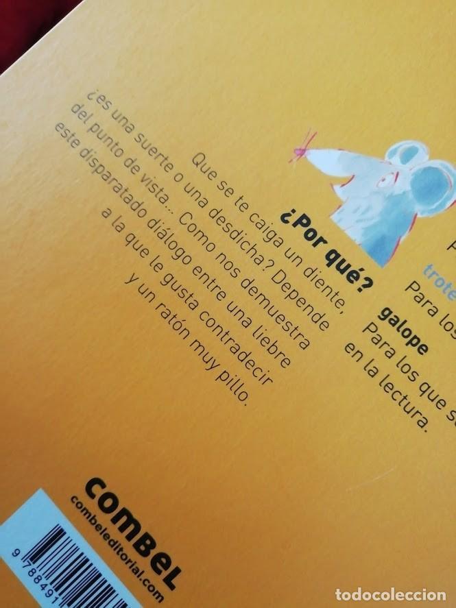 Libros antiguos: historia sobre el RATONCITO PÉREZ- ¿Por qué? de ed COMBEL (colección Galope) con texto en mayúsculas - Foto 8 - 194156583