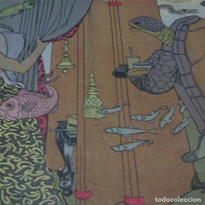 Libros antiguos: Colección amic.cuentos populares ilustrados.el pescador y la princesa.muntañola.japones. - Foto 5 - 198884202