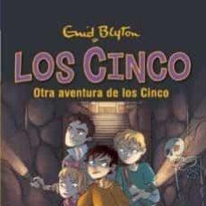 Libros antiguos: LIBRO INFANTIL CUENTO TAPA DURA LOS CINCO OTRA AVENTURA DE LOS CINCO. Lote 198930322