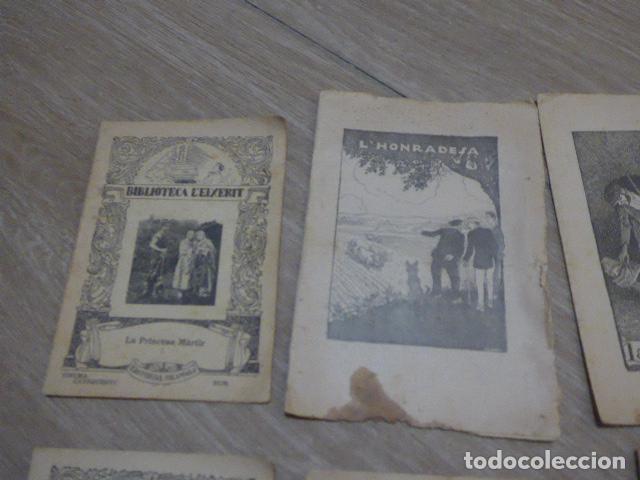 Libros antiguos: Lote 28 antiguos cuentos en catalan de principios s.XX, patufet, originales, catala. Tipo callejas - Foto 2 - 199077043