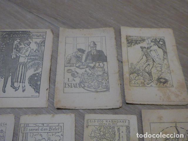 Libros antiguos: Lote 28 antiguos cuentos en catalan de principios s.XX, patufet, originales, catala. Tipo callejas - Foto 4 - 199077043