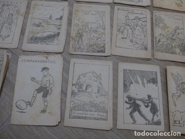 Libros antiguos: Lote 28 antiguos cuentos en catalan de principios s.XX, patufet, originales, catala. Tipo callejas - Foto 10 - 199077043