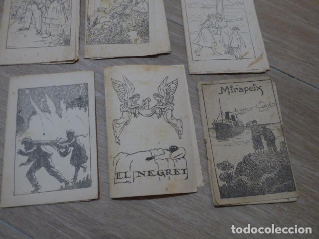 Libros antiguos: Lote 28 antiguos cuentos en catalan de principios s.XX, patufet, originales, catala. Tipo callejas - Foto 11 - 199077043