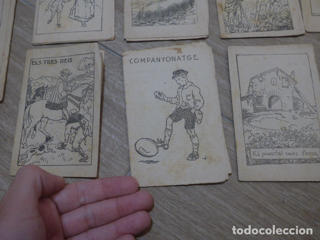 Libros antiguos: Lote 28 antiguos cuentos en catalan de principios s.XX, patufet, originales, catala. Tipo callejas - Foto 13 - 199077043