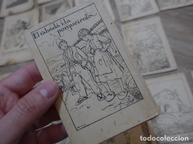 Libros antiguos: Lote 28 antiguos cuentos en catalan de principios s.XX, patufet, originales, catala. Tipo callejas - Foto 14 - 199077043