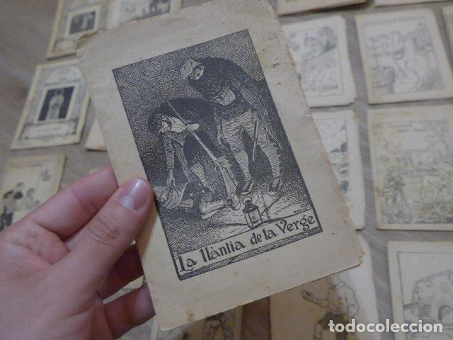 Libros antiguos: Lote 28 antiguos cuentos en catalan de principios s.XX, patufet, originales, catala. Tipo callejas - Foto 17 - 199077043