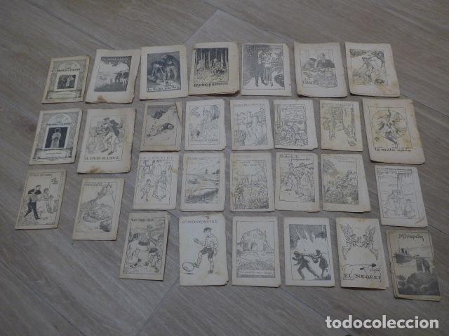 LOTE 28 ANTIGUOS CUENTOS EN CATALAN DE PRINCIPIOS S.XX, PATUFET, ORIGINALES, CATALA. TIPO CALLEJAS (Libros Antiguos, Raros y Curiosos - Literatura Infantil y Juvenil - Cuentos)