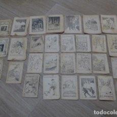Libros antiguos: LOTE 28 ANTIGUOS CUENTOS EN CATALAN DE PRINCIPIOS S.XX, PATUFET, ORIGINALES, CATALA. TIPO CALLEJAS. Lote 199077043