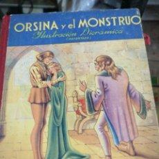 Libros antiguos: ORINA Y EL MONSTRUO Y FLOR DE LIS LA BELLA DURMIENTE. Lote 199206842