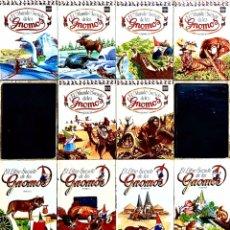 Libros antiguos: LOTE 14 LIBROS EL MUNDO SECRETO DE LOS GNOMOS Y EL LIBRO SECRETO DE LOS GNOMOS. Lote 199220427