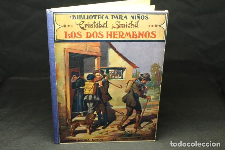 CRISTOBAL SMICHD, LOS DOS HERMANOS, BIBLIOTECA PARA NIÑOS (Libros Antiguos, Raros y Curiosos - Literatura Infantil y Juvenil - Cuentos)