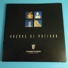 Libros antiguos: CARPETA CON 11 DÍPTICOS RACONS DE PATERNA. REGIDORIA DE CULTURA. AJUNTAMENT DE PATERNA. Lote 199870947