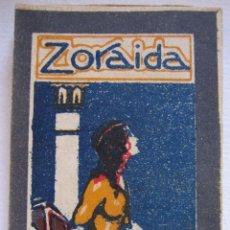 Libros antiguos: ANTIGUO CUENTO ZORAIDA. SERIE LILIPUT, Nº 19. ILUSTRADOR JOAQUÍN SANTANA BONILLA. 8,5 X 5 CM. Lote 200133807
