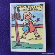 Libros antiguos: MINI CUENTO EL BILLETE DE 25 PTS. PUBLICIDAD DE CHOCOLATES ORBEA (PAMPLONA). LIBRO - LIBRITO.. Lote 200176476