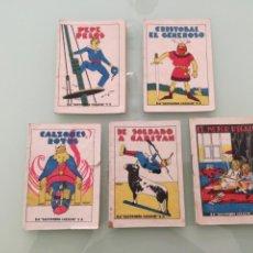 Libros antiguos: CINCO CUENTOS PEQUEÑOS ,ANTIGUOS, DE LA EDITORIAL CALLEJA.. Lote 201329432