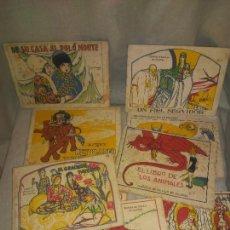 Libros antiguos: LOTE DE ANTIGUOS CUENTOS CALLEJA EN COLORES - AÑOS 1920 - ORIGINALES DE EPOCA.. Lote 202346505