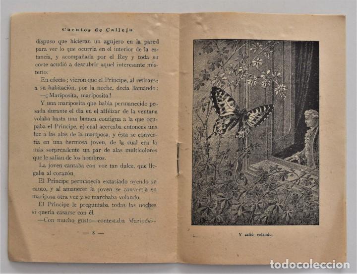 Libros antiguos: LOTE 5 CUENTOS PARA NIÑOS Nº DE EDITORIAL SATURNINO CALLEJA - Foto 3 - 202623497