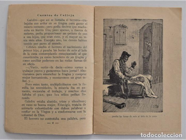 Libros antiguos: LOTE 5 CUENTOS PARA NIÑOS Nº DE EDITORIAL SATURNINO CALLEJA - Foto 5 - 202623497